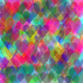 Pastel hearts background Stock Image