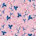 Pastel Liberty flower seamless pattern ,elegant gentle trendy i