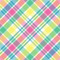 Pastel Plaid Stock Photos
