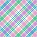 Pastel Plaid Stock Images