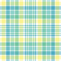 Pastel Plaid Royalty Free Stock Photo