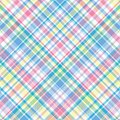 Pastel Plaid Royalty Free Stock Image