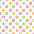Pastel Polka Dots Stock Photography