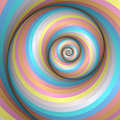 Pastel rainbow swirl Stock Photo