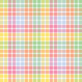 Pastel Stripe Plaid Stock Images