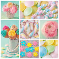 Pastel sweets Royalty Free Stock Photo