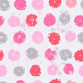 Pastel tones elegant polka dot seamless pattern Royalty Free Stock Photo
