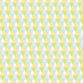 Pastel triangle background pattern geometry with green yellow purple blue color Stock Photo