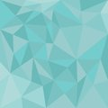 Pastel vector triangle blue background or mint green pattern