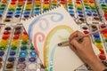 Pastel Watercolor Swirls By A ...