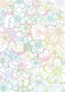 Pastell floral background Stock Photography
