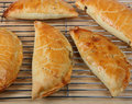 Pasties cooling Royalty Free Stock Images
