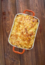 Pastitsio a greek and mediterranean baked pasta dish including ground beef bechame sauce Stock Photo