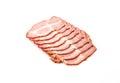 pastrami pork Royalty Free Stock Photo