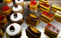 Pastries and cakes Royalty Free Stock Photo