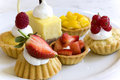 Pastries for Dessert Royalty Free Stock Photography