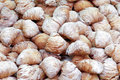 Pastries sfogliatelle italian typical neapolitan sweet food Royalty Free Stock Images