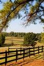 Pasture Fence Royalty Free Stock Photo