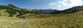 Pasture near Borisov mountain in Velka Fatra mountains in Slovakia