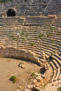 Patara amphitheatre Stock Photo