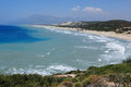 Patara beach in turkey at summer Stock Images