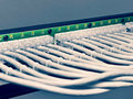 Patch panel of the th category image Stock Photography