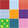 Patchwork background Royalty Free Stock Photos