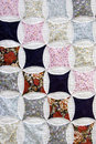 Patchwork cloth Stock Images