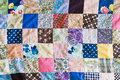 Patchwork pattern of part of a sheet Royalty Free Stock Photo