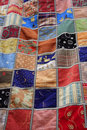Patchwork quilt blanket Royalty Free Stock Photos