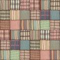 Patchwork quilt seamless texture