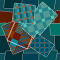 Patchwork seamless Stock Image