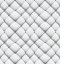 Patchwork seamless white origami pattern