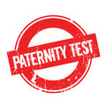 Paternity Test rubber stamp