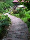 Path in down. Royalty Free Stock Photo