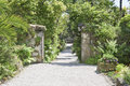 Path in Garden Royalty Free Stock Photo
