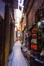 Path at khan el khalili bazaar cairo in egypt historical ancient Stock Images