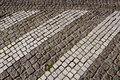 Path paved small stone architecture backdrop floor Royalty Free Stock Photos