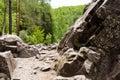 Path Among The Rocks. Northern...