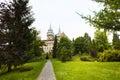 Path to the Bojnice castle