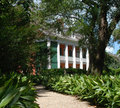 Path to Southern Plantation Royalty Free Stock Photos