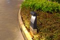 Pathway garden lighting lamp object photo of in for any design material Stock Image
