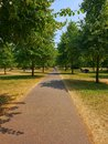 Pathway in kensington Royalty Free Stock Photo