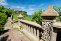 Pathway to Uluwatu Temple Royalty Free Stock Photo