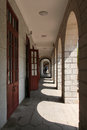 Pathway in Xiamen University campus, southeast China Royalty Free Stock Photo