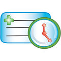 Patient appointment icon Royalty Free Stock Photo
