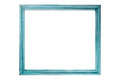 Patina frame photo of on white background Royalty Free Stock Photo