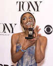 Patina miller stunning multi talented mugs for the photographers in the media room after claiming her statuette at the th annual Stock Photography