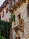 Patio and balcony of Romeo and Juliet house Royalty Free Stock Photo
