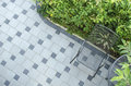 Patio blocks with chair Royalty Free Stock Photos